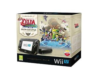 Nintendo Wii U - Consola 32 GB, Color Negro, Premium Pack + Zelda: Wind Waker HD (B00EUEX1W6) | Amazon price tracker / tracking, Amazon price history charts, Amazon price watches, Amazon price drop alerts