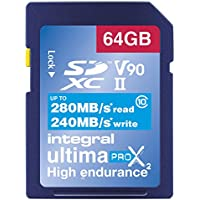 Integral INSDX64G-280/240U2 Carte SD 64 GB