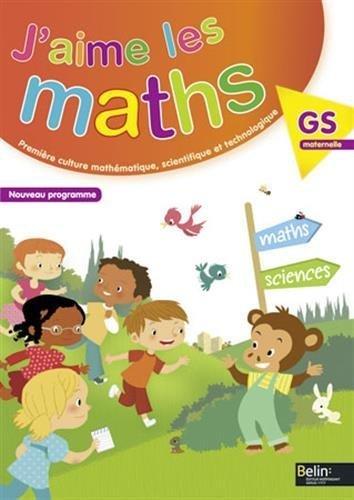 J'aime les maths. Grande section maternelle - Fichier élève de Constance Jallier (5 mars 2015) Broché
