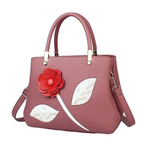 Süße Art Und Weisehandtaschen Kurierbeutel-Schulterbeutelhandtasche Einfaches Art Und Weise Temperament Pink