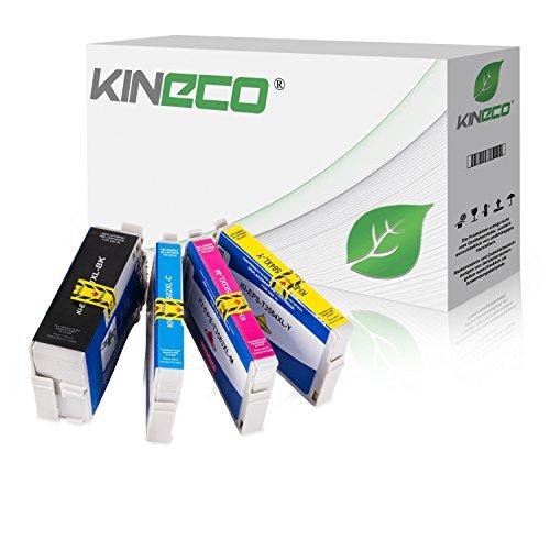 Preisvergleich Produktbild 4 Kineco Tintenpatronen kompatibel zu Epson 35 T3581-T3584 für Epson Workforce Pro WF-4720DWF WF-4725DWF WF-4730DTWF WF-4735DTWF WF-4740DTWF