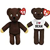 Mr Bean Official TV Comedy Star Twin Beanie Bear Set by Ty (Limited Edition)