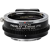 Fotodiox vizelex Polar Throttle Fusion Smart AF Lens Adaptateur–Canon EOS EF (EF-S de secours) d/SLR Lens to Sony Alpha E-mount Mirrorless Camera with Full Automated Fun ctions and Built-in circulaire Filtres