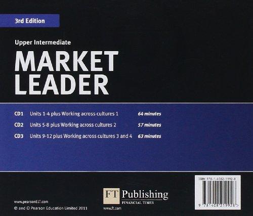 Market Leader 3rd edition Upper Intermediate Audio CD (2)