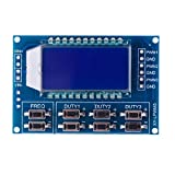 Eachbid 1Hz-150Khz PWM Board Module Pulse Frequency Duty Cycle Adjustable Module LCD Display Signal Generator Module