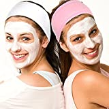 #9: FOK Terry Cloth Facial Spa Headband Head Wrap Stretch Towel Yoga Sport Multiuse Headband With Non-Slip Stretchable Elasticized Facial Headband- Random Color