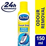 SCHOLL Fresh Step Shoe Spray, 150 ml, Pack of 4