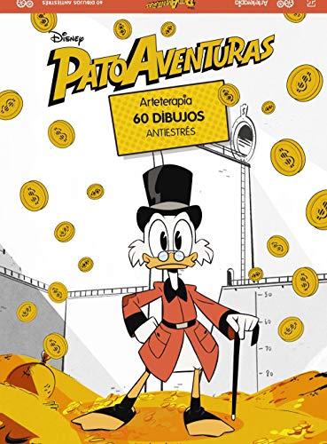 Arteterapia. Patoaventuras (Hachette Heroes - Disney - Arteterapia) por Varios autores