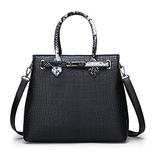 Tnxan Luxury Serpentine Crocodile Handbags Bolsos