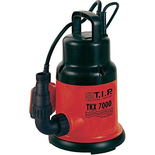 T.I.P. 30267 Klarwasser-Tauchpumpe TKX 7000, bis 7.000 l/h Fördermenge