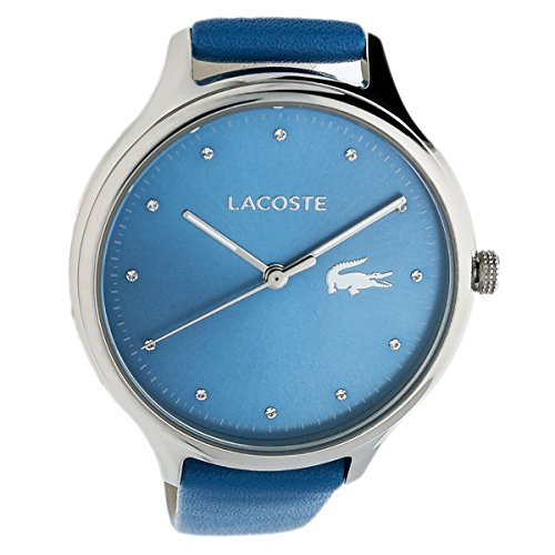Lacoste Womens Analogue Classic Quartz Watch with Leather Strap 2001006