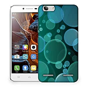 Snoogg bubbles design 2380 Designer Protective Back Case Cover For Lenovo K5 Vibe