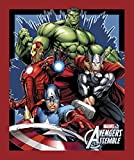 Marvel Avengers Assemble Baumwolle Print Quilting Stoff