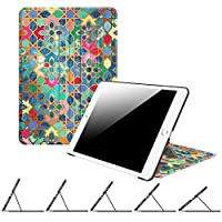 Fintie iPad 9.7 Inch 2017 Case - [Multiple Secure Angles] Slim Shell Magnetic Kickstand Protective Cover with Auto Sleep/ Wake Feature for Apple iPad 9.7