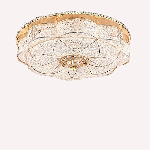 GTB Continental Zeichnung runden Kristall Decke Wohnzimmer Schlafzimmer , warm white 30 w + 30 w (Kostüme Zeichnungen)