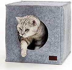 PiuPet® Cama de Gato Incl. cojín | Casa de Gato Adecuada para IKEA®