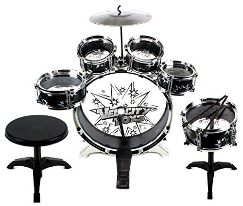 11-piece-kids-dum-set-childrens-musical-instrument-drum-play-set-w-6-drums-cymbal-chair-kick-pedal-d