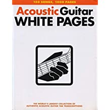 Acoustic Guitar Tab White Pages-