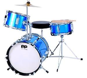 Performance Percussion - 3 Piece Drum Kit - Blue
