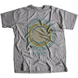 A002-342g Mandala Herren T-Shirt The Life is A Never Ending Journey Quote God Jesus Buddha Faith Religion Cult(Large,Sportsgrey)