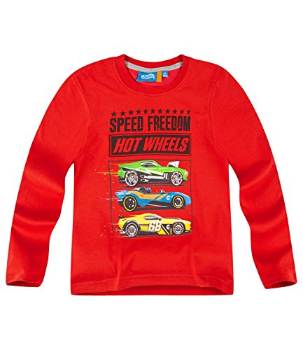 hot-wheels-boys-long-sleeve-t-shirt-2016-collection-red