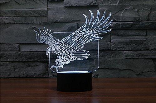HYSENM 3D Nachtlampe LED Nachtlicht Dekoration Acryl für Kinderzimmer Wohnzimmer Musik-Serie,...