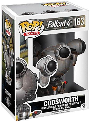 Figura Vinyl Pop! Fallout 4 Codsworth Battle Limited