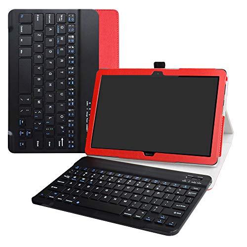 Labanema Huawei MediaPad T5 10 Teclado Funda
