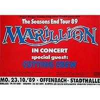 MARILLION - 1989 - Konzertplakat - Seasons End - Tourposter - OF