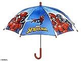 Perletti 75366Junge 38/8Mann Bedruckt Spiderman Sicherheit Öffnender Regenschirm