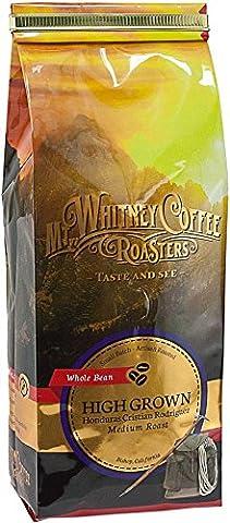 Mt, Whitney Coffee Roasters, Whole Bean Coffee, High Grown, Honduras Cristian Rodriquez, Medium Roast, 12 oz (340