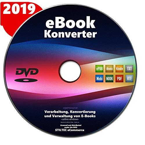 eBook-Konverter für Kindle, iPad und Alle eBook Reader Umwandlung aller Formate und Archivierung NEUWARE auf Deutsch (Für Pc Reader-software)