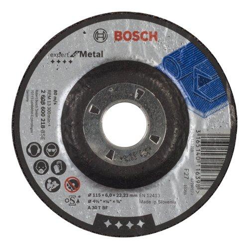 Preisvergleich Produktbild Bosch 2608600218 Schleifzubehör Schruppsch.115 x 6  mm f.Metall
