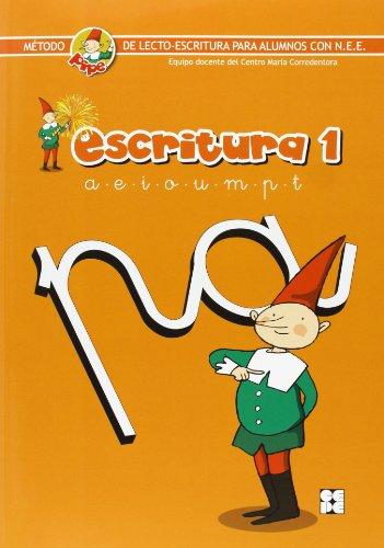 Escritura pipe 1: Método de lectoescritura para alumnos con N.E.E. (Método PIPE de lectura y escritura del Centro María Corredentora)