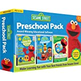 Sesame Street Triple Pack - Includes Learn, Play & Grow, Go To Pre-School, Elmos World (PC/Mac)