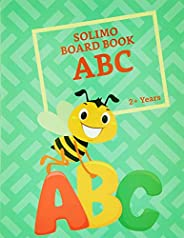 Amazon Brand - Solimo Long Board Book, Alphabets