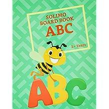 Amazon Brand - Solimo Long Board Book, Alphabets