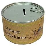 Unbekannt Blümchen & Ko. Spardose im Retro Look Wie Konservendose 10cm x 6cm (Einweg) Männer Hobby Kasse