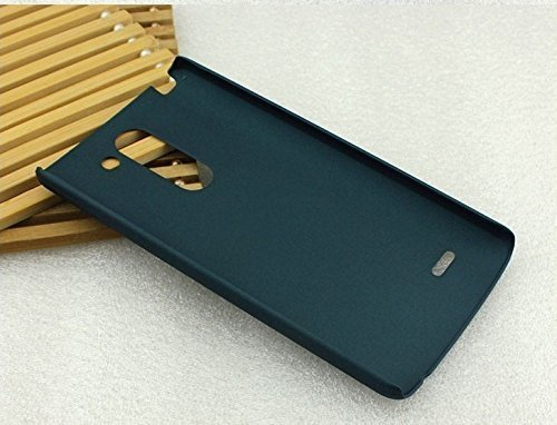 GoRogue Slim Protective Best Rubberized Hard Bumper Back Case Cover for LG G Flex 2 (Cyan) - CLEARANCE SALE@99  available at amazon for Rs.99