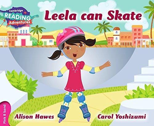 Leela can skate