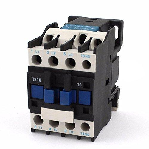 TOOGOO Power Wechselstromschütz 1No Wechselstrom 220V 50 / 60Hz Spulen-Motorstarter-Relais 32A 3-Phasen-Pol -