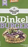 Bauckhof Dinkel-Burger Demeter, 6er Pack (6 x 160 g)
