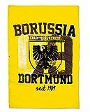 BVB 17130600 Hissfahne 100x150cm mit Stadtwappen, Schwarz/Gelb, 100 x 150 x 1 cm