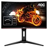 AOC C24G1 24' Widescreen VA LED Black/Red Curved Monitor (1920x1080, 1ms, 144hz, VGA, 2xHDMI, DP)