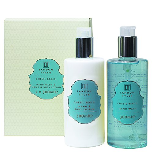 Landon Tyler Chesil Beach Hand Wash and Lotion 2 x 300ml Duo Set