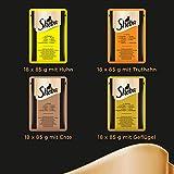 Sheba Katzenfutter Selection in Sauce für ausgewachsene Katzen, Geflügel Variation in Sauce, 1er Pack (1 x 72 x 85 g) - 2
