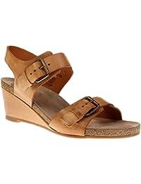 130-black-west Damen Schuhe Sandale Keilsandalette Ca Shott 17074