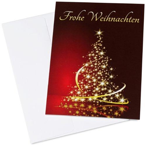 Amazon.de Geschenkkarte in Grußkarte - 20 EUR (Eleganter Weihnachtsbaum)