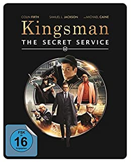 Kingsman: The Secret Service - Limited Edition Steelbook (Blu-ray + UV Copy) Blu-ray