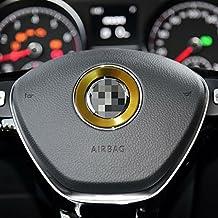 LITTOU - Anillo decorativo para el centro del volante del coche para Golf 6 Golf 7